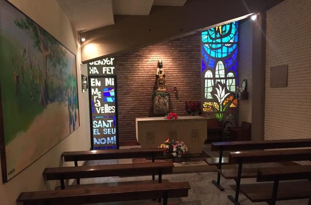 camp nou chapel barcelona